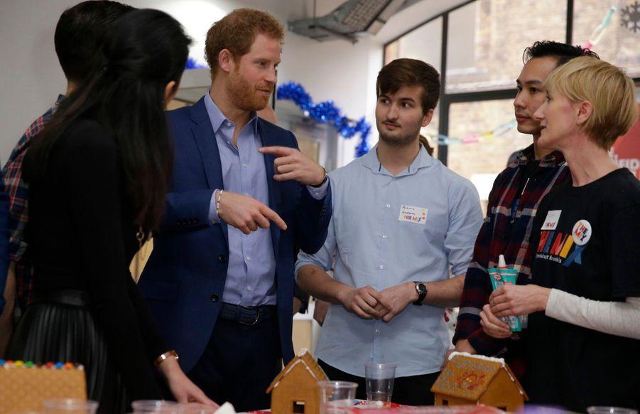 Kate, William Et Harry Fêtent Noël Avant L'heure 14