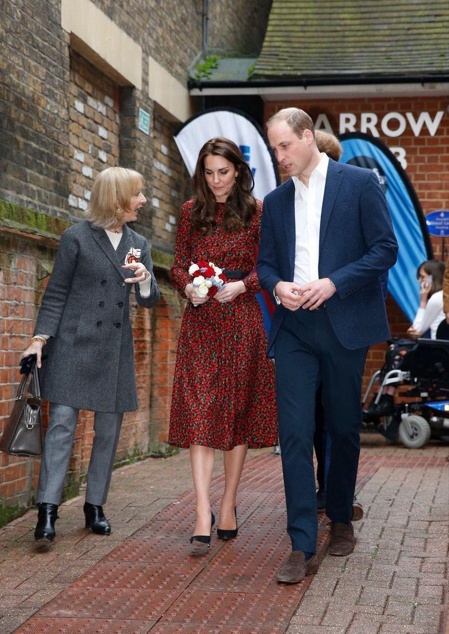 Kate, William Et Harry Fêtent Noël Avant L'heure 3