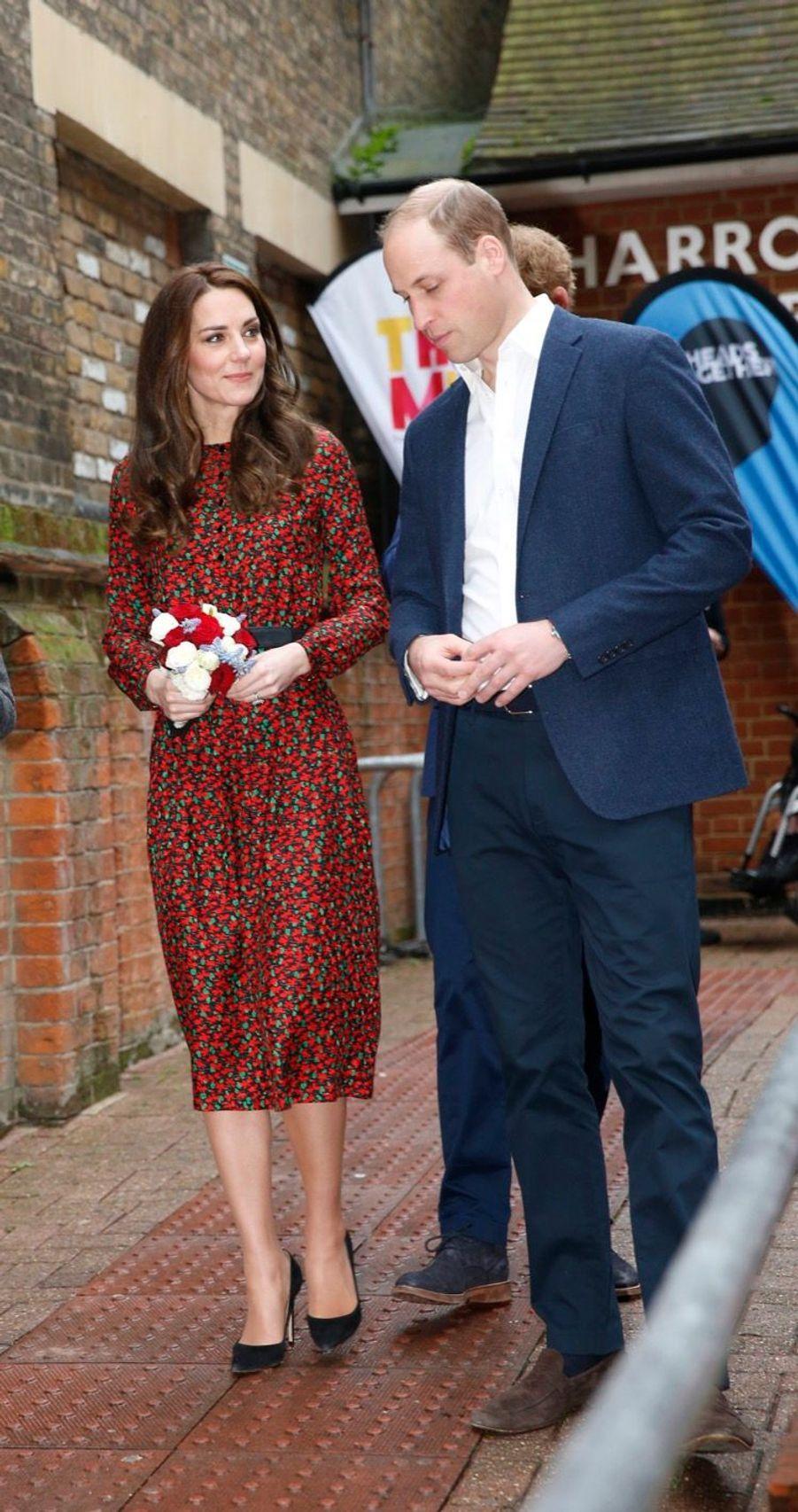 Kate, William Et Harry Fêtent Noël Avant L'heure 4