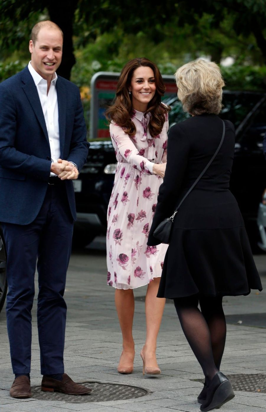 Kate, William et Harry gardent un oeil sur Londres