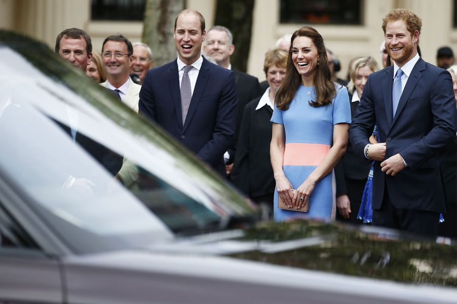 Harry, William et Kate