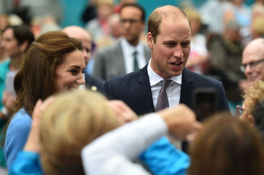 Le prince William et la duchesse Kate