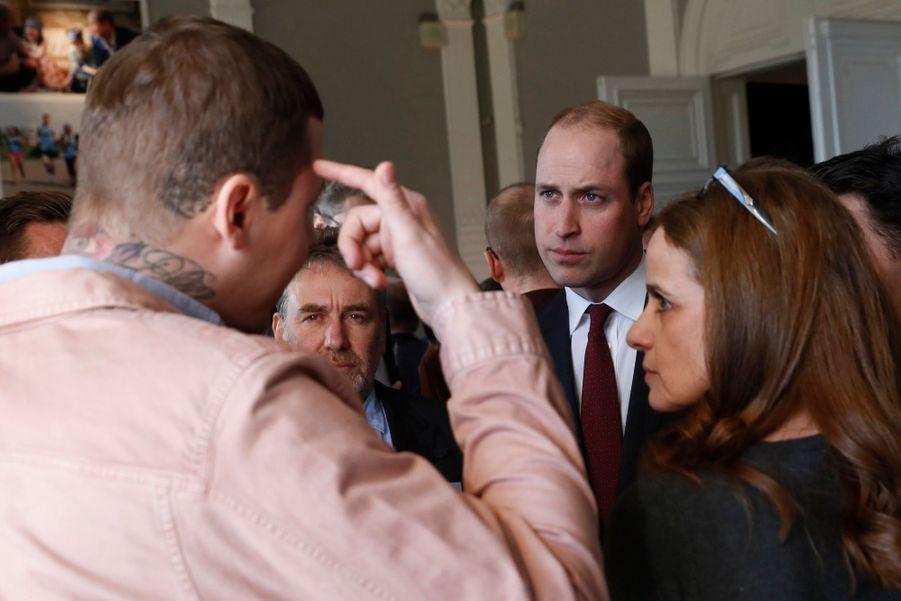"""Kate, William Et Harry Défendent """"Heads Together"""" En Vue Du Marathon De Londres 18"""