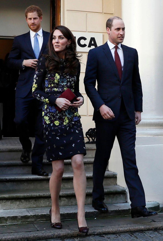 """Kate, William Et Harry Défendent """"Heads Together"""" En Vue Du Marathon De Londres 4"""