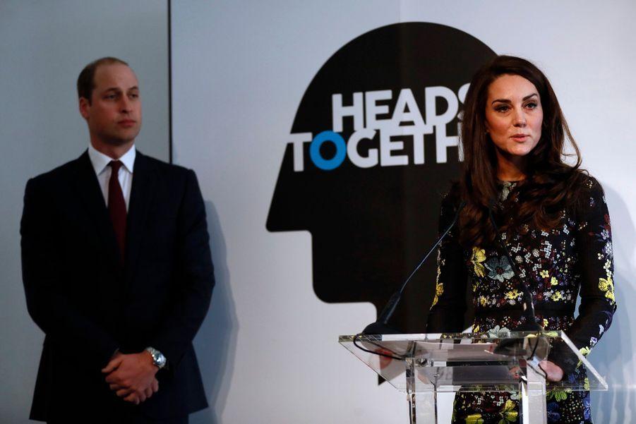"""Kate, William Et Harry Défendent """"Heads Together"""" En Vue Du Marathon De Londres 7"""