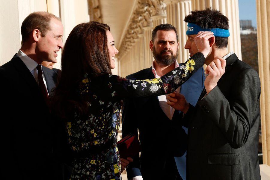 """Kate, William Et Harry Défendent """"Heads Together"""" En Vue Du Marathon De Londres 8"""