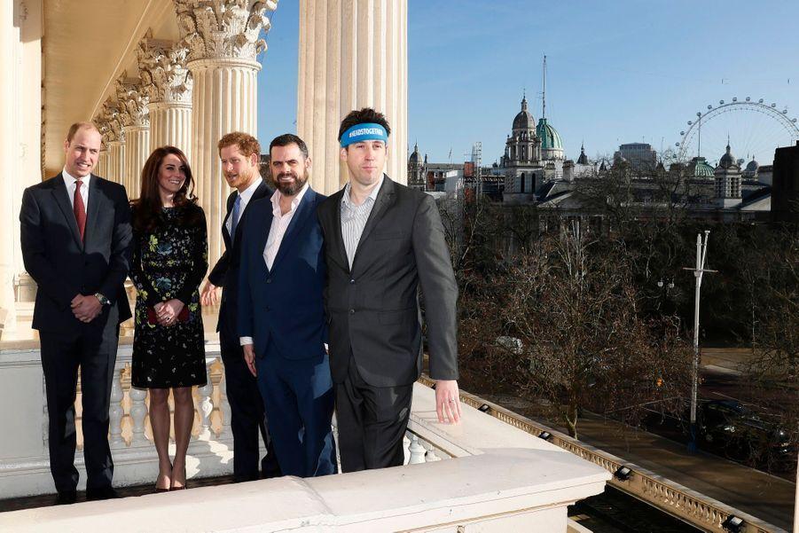 """Kate, William Et Harry Défendent """"Heads Together"""" En Vue Du Marathon De Londres 9"""