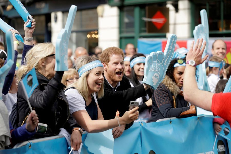 Kate Middleton, Les Princes William Et Harry Au Marathon De Londres, Dimanche 23 Avril 2017 36