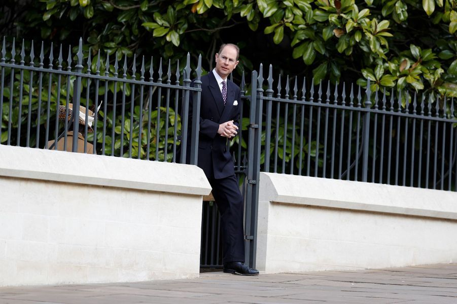 Le prince Edwardà Windsor, le 16 avril 2017.