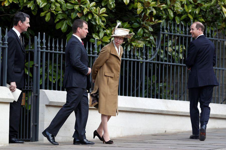 La princesse Anneà Windsor, le 16 avril 2017.