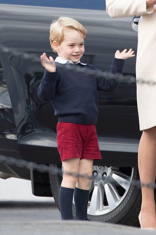 Kate, William, George et Charlotte disent 'bye bye' au Canada