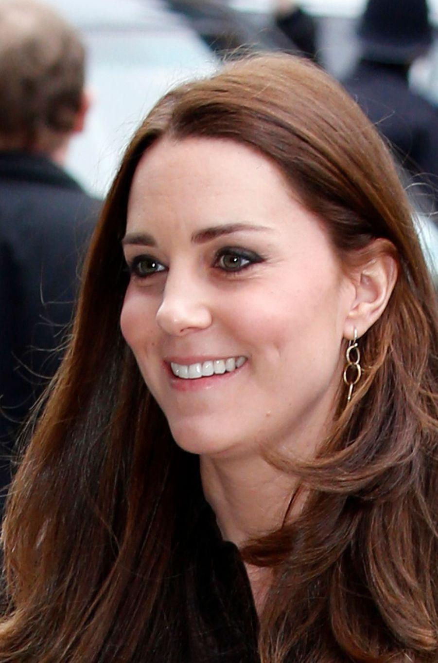 La duchesse Catherine de Cambridge à Londres, le 16 janvier 2015