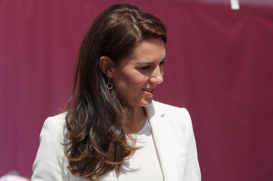 Kate Middleton à Londres, le 16 juin 2017