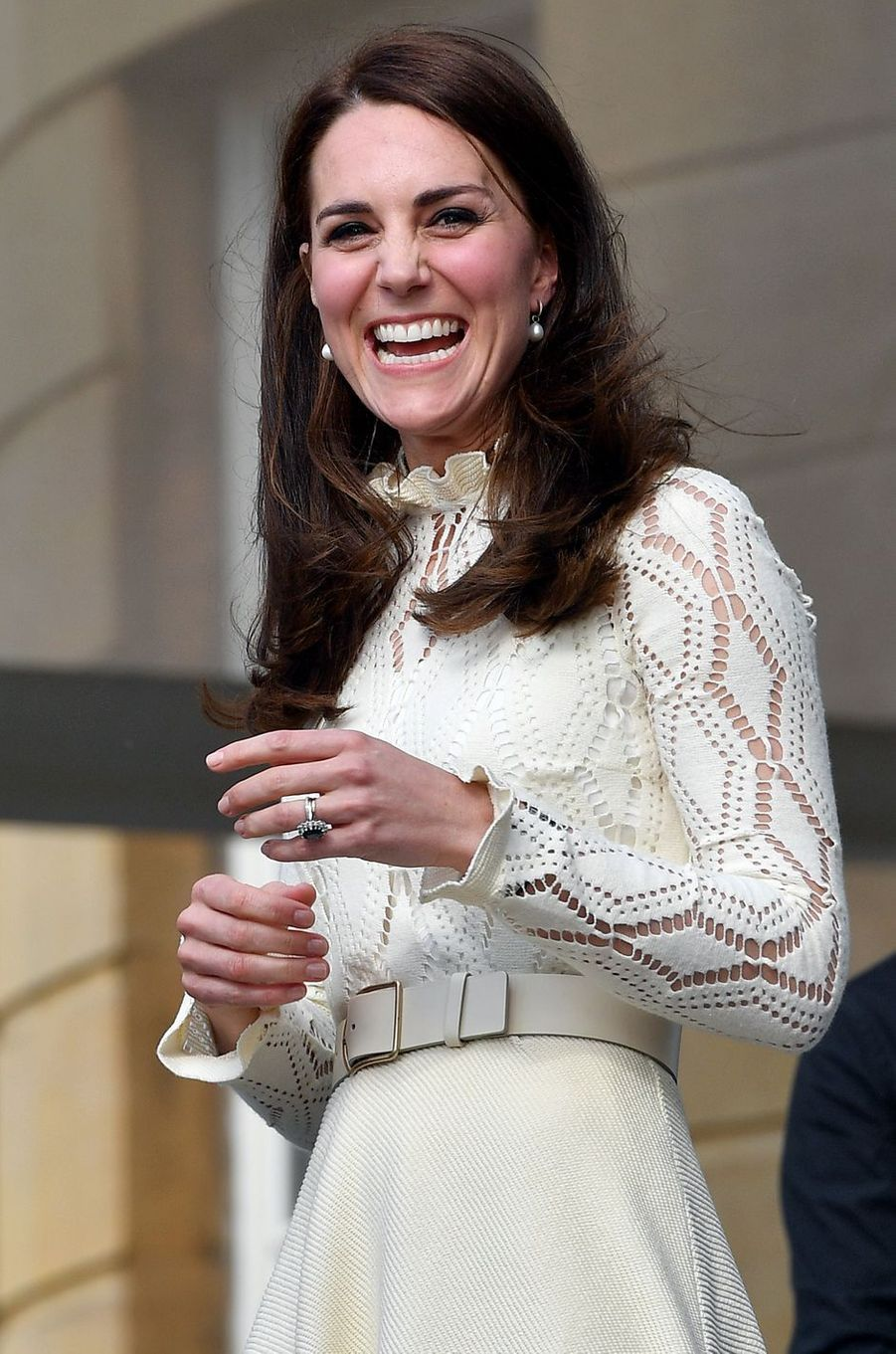La duchesse Catherine de Cambridge à Londres le 13 mai 2017