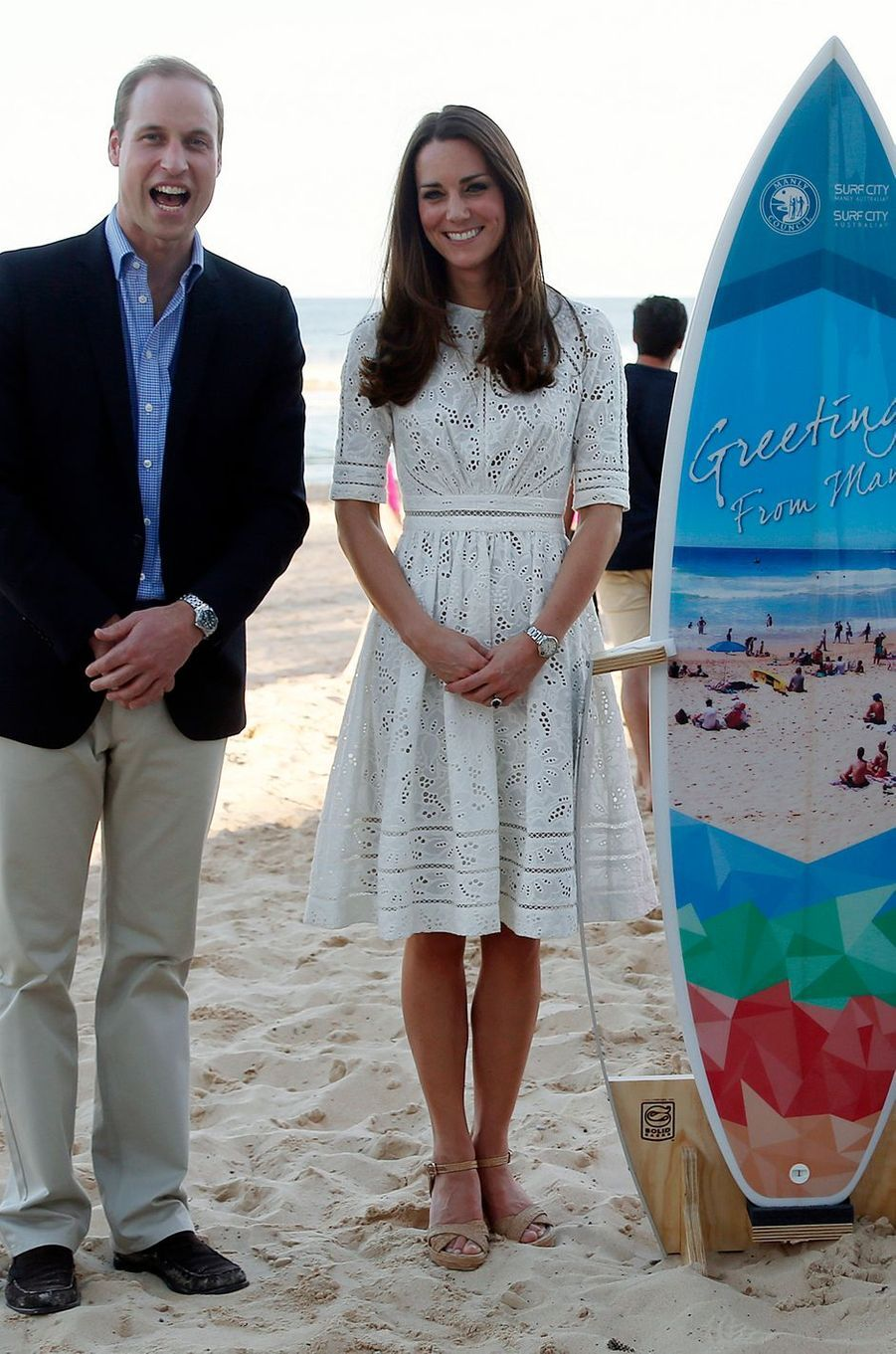 La duchesse Catherine de Cambridge à Sydney le 19 avril 2014