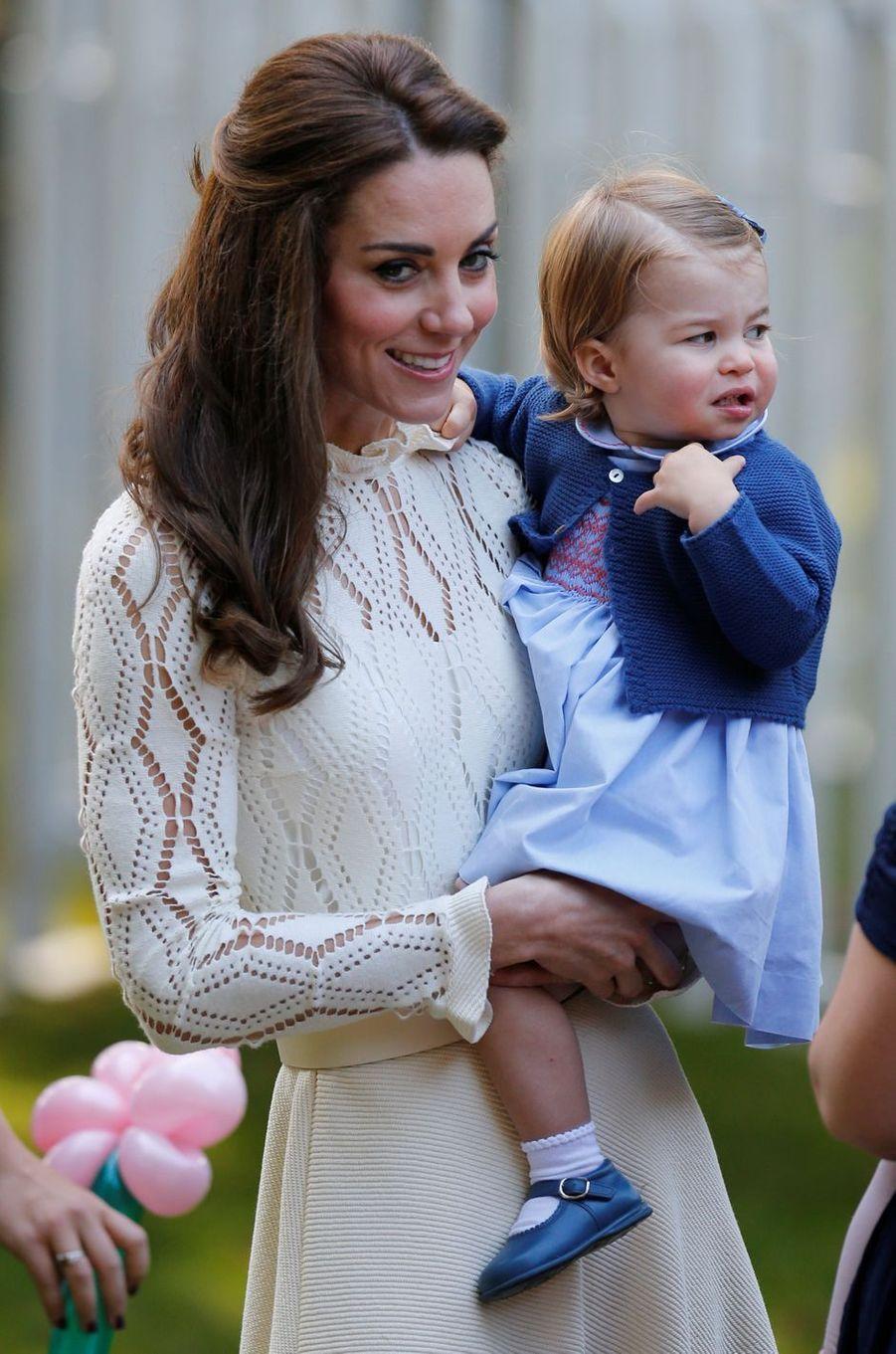 La duchesse Catherine de Cambridge à Victoria le 2 octobre 2016