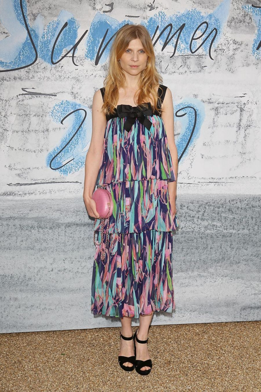Clémence Poésy à la Serpentine Summer Party à Londres le 25 juin 2019
