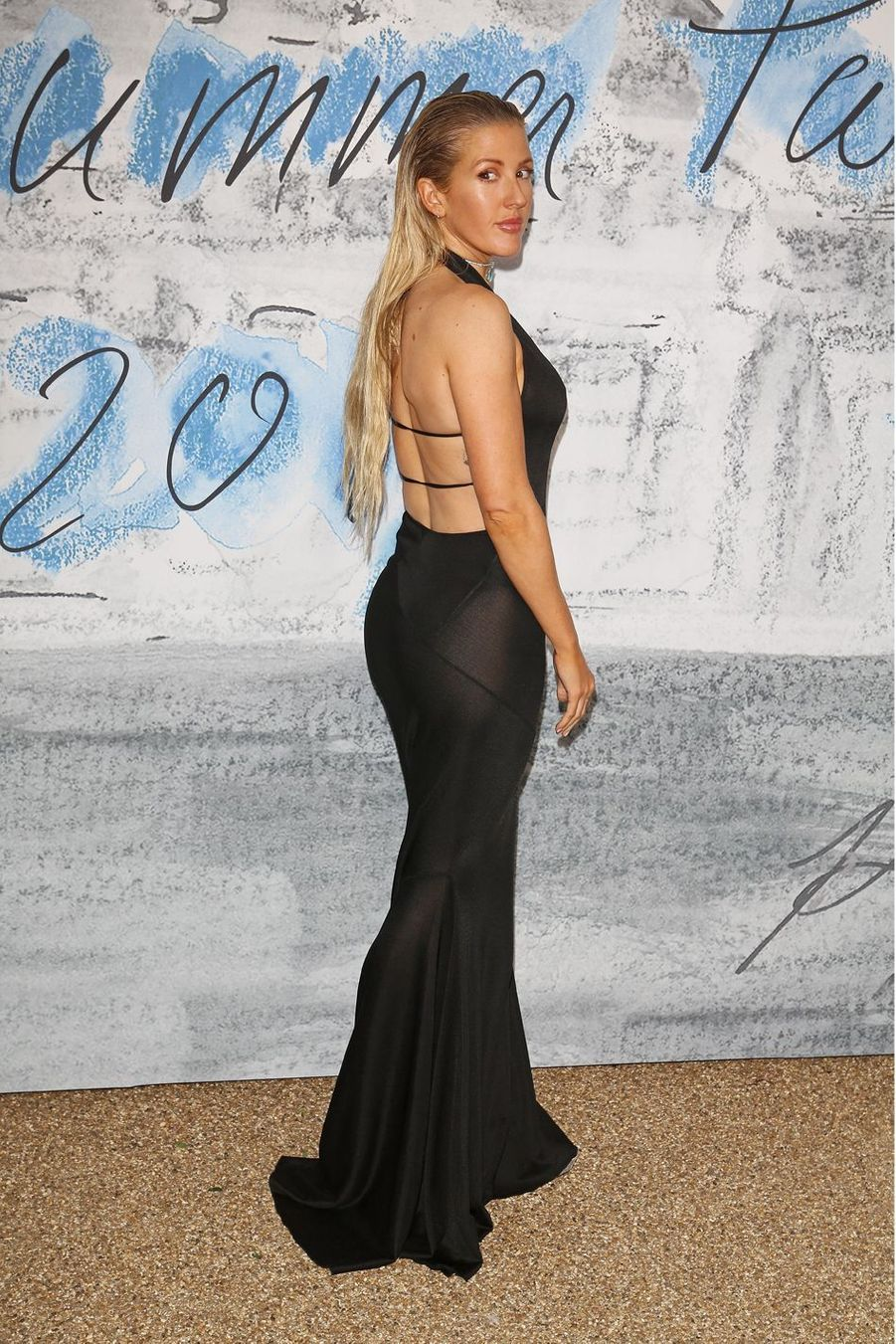 Ellie Goulding à la Serpentine Summer Party à Londres le 25 juin 2019