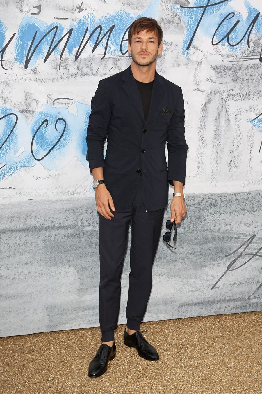Gaspard Ulliel à la Serpentine Summer Party à Londres le 25 juin 2019