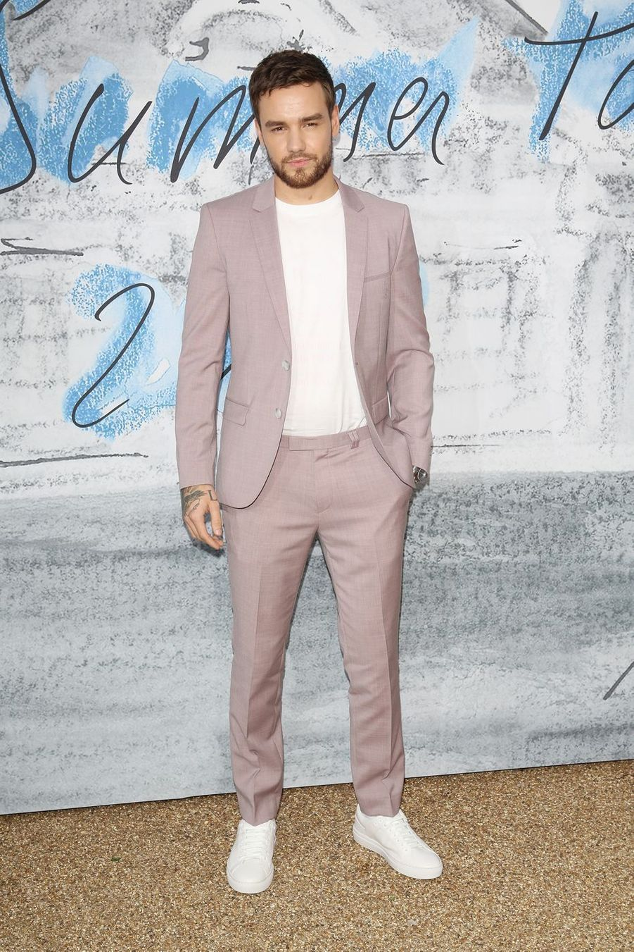 Liam Payne à la Serpentine Summer Party à Londres le 25 juin 2019