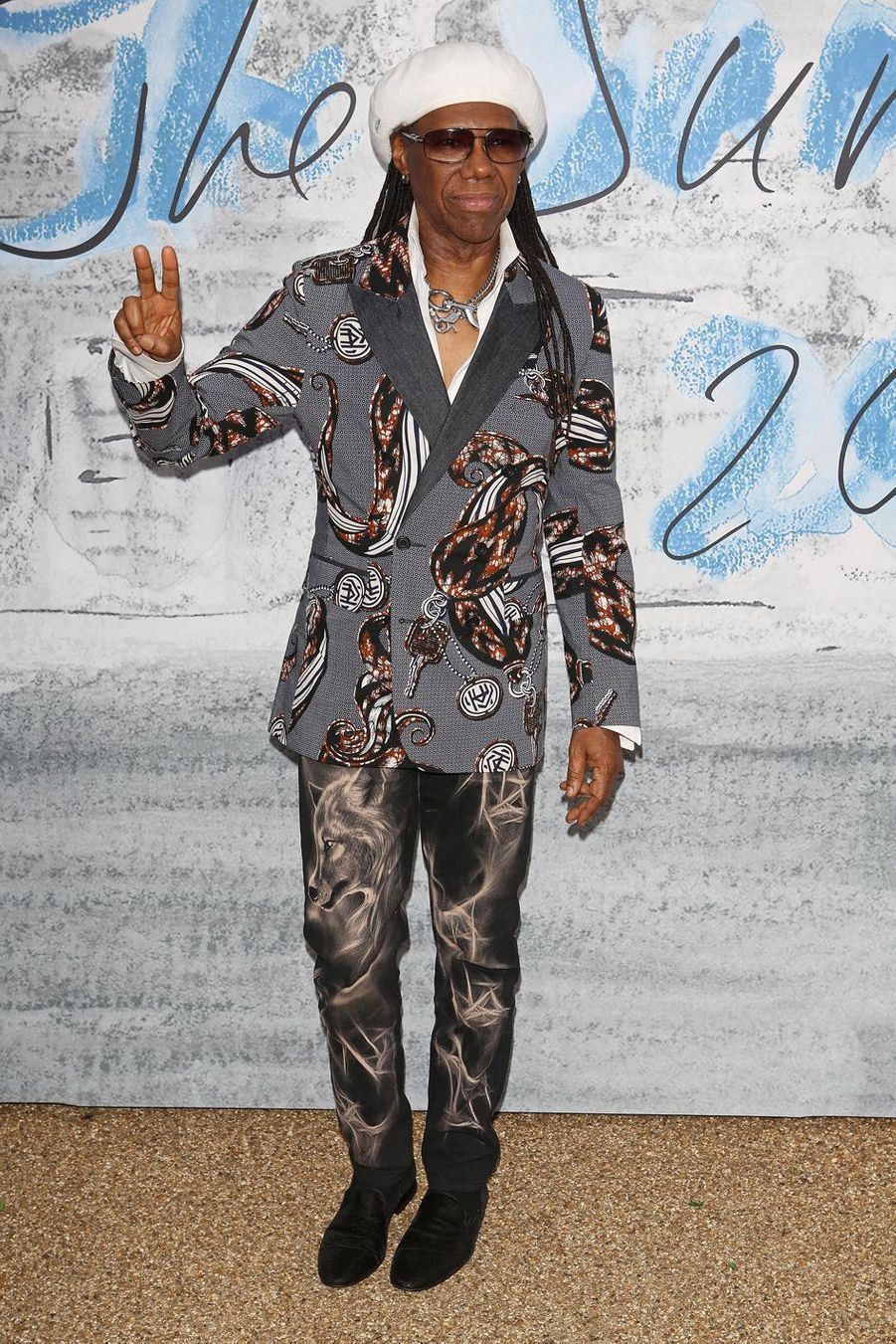 Nile Rodgers à la Serpentine Summer Party à Londres le 25 juin 2019