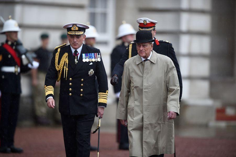 Dernier engagement royal du prince Philip à Londres le 2 aout 2017
