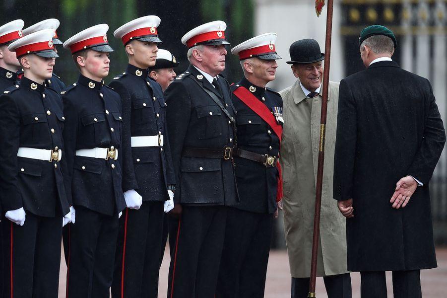 Le dernier engagement royal du prince Philip à Londres le 2 aout 2017