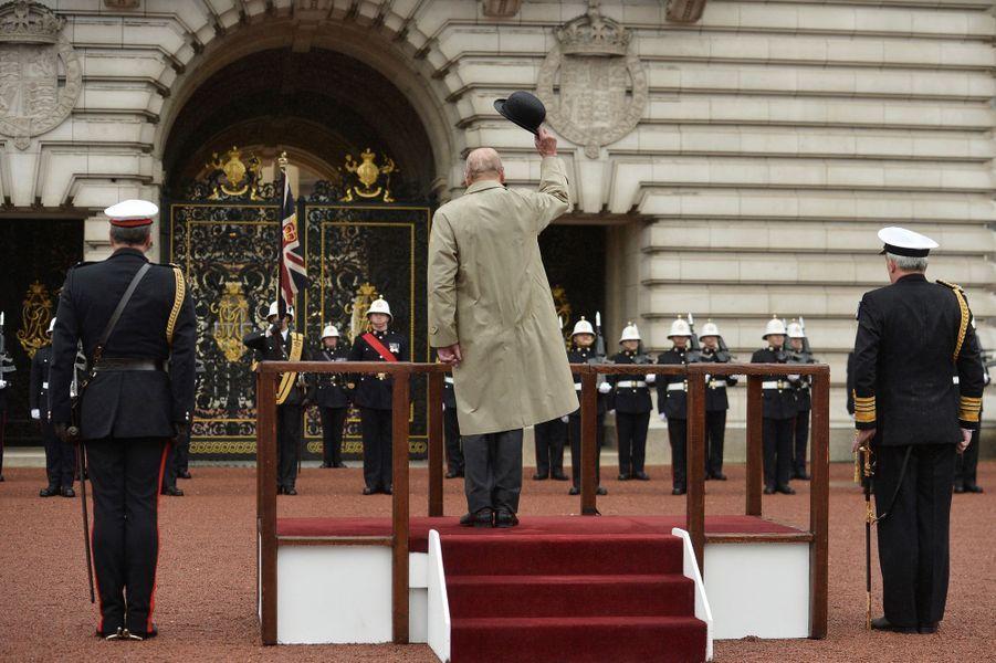 Le prince Philip à Londres le 2 aout 2017