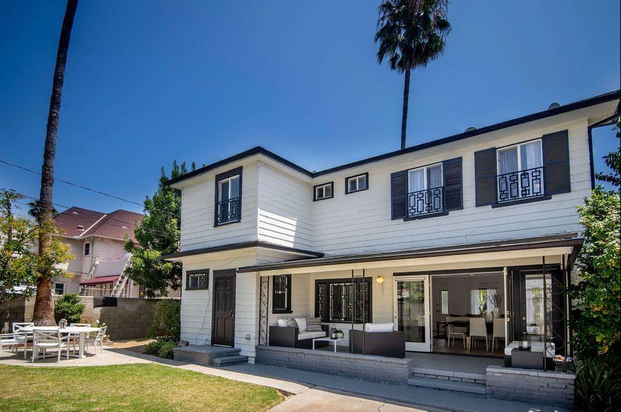 L'ancienne maison de Meghan Markle à Los Angeles.