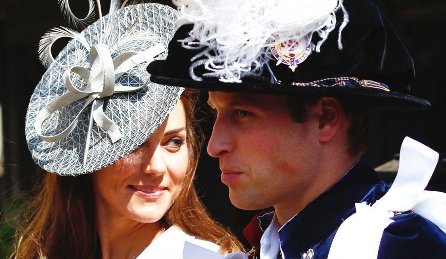 Kate était présente en juin à l'occasion de la procession annuelle de l'Ordre de la Jarretière, le plus important des ordres britanniques.