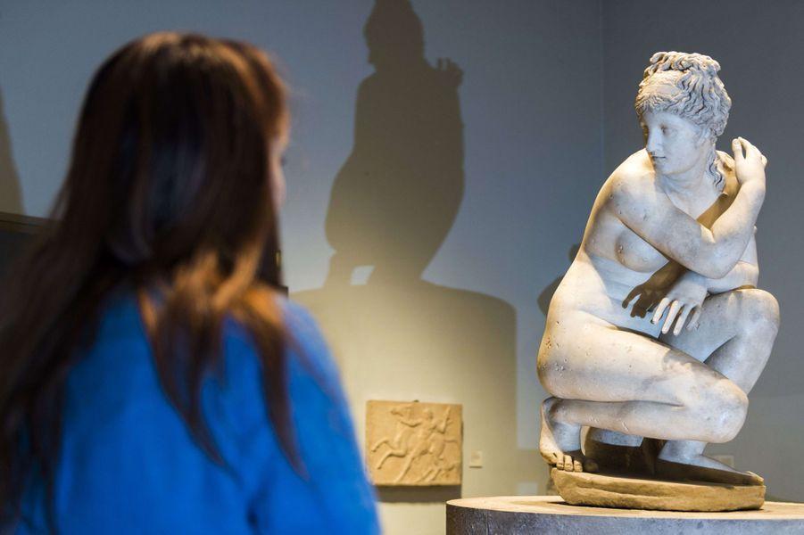 L'Aphrodite au bain de la collection de la reine Elizabeth II au British Museum, le 8 janvier 2015