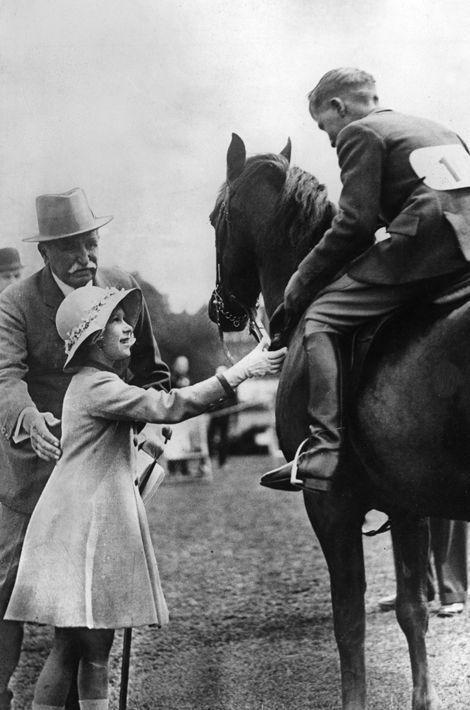 La princesse Elizabeth, en 1936