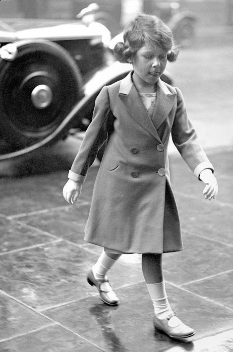 La princesse Elizabeth, le 17 mai 1932