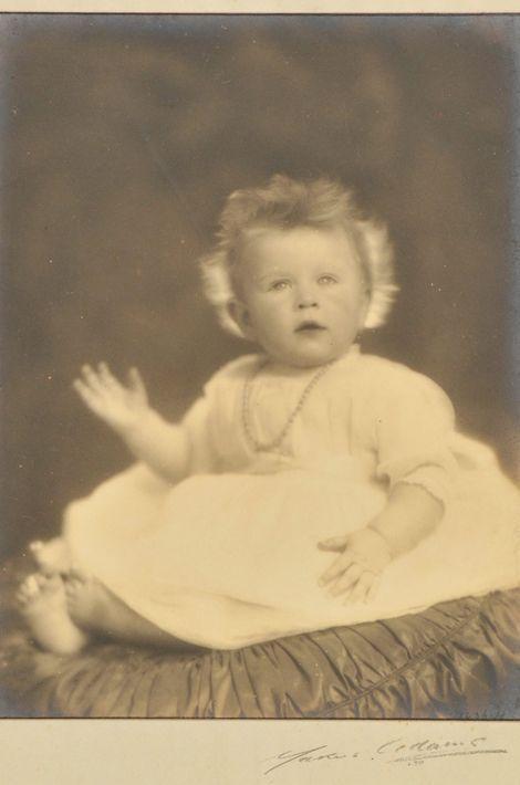La princesse Elizabeth, le 20 janvier 1927