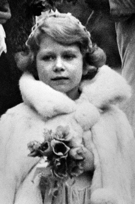 La princesse Elizabeth, le 24 octobre 1931