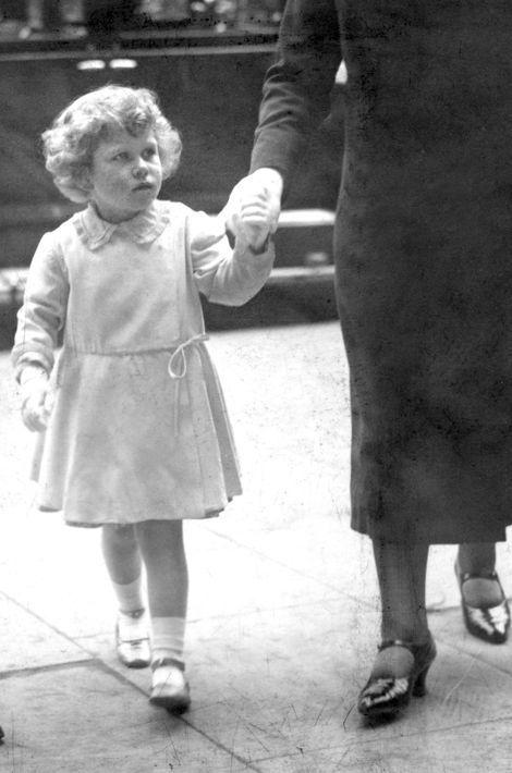 La princesse Elizabeth, le 29 mai 1930