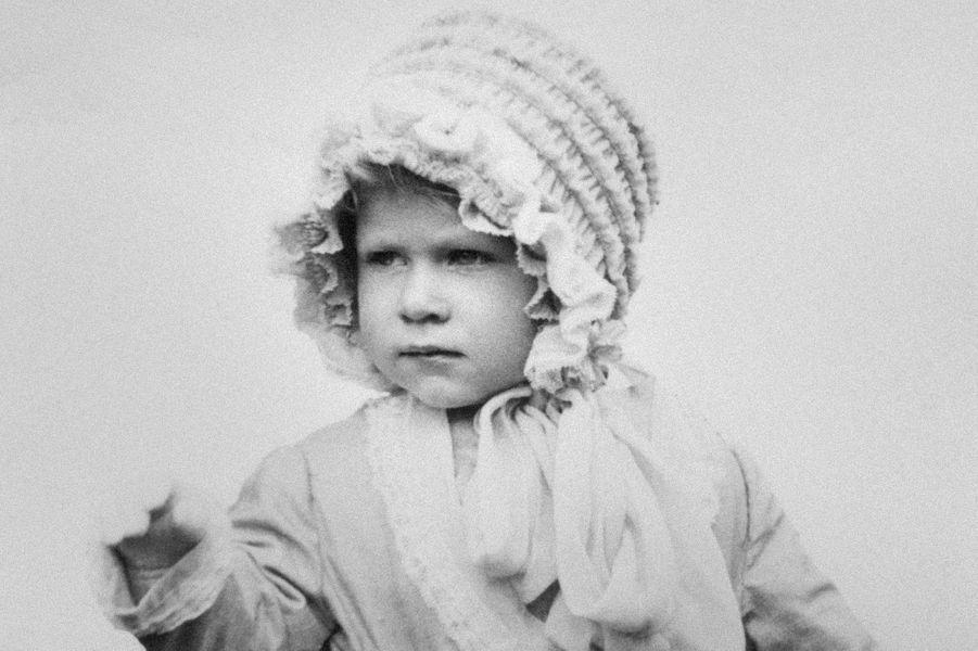 La princesse Elizabeth, le 3 mai 1928