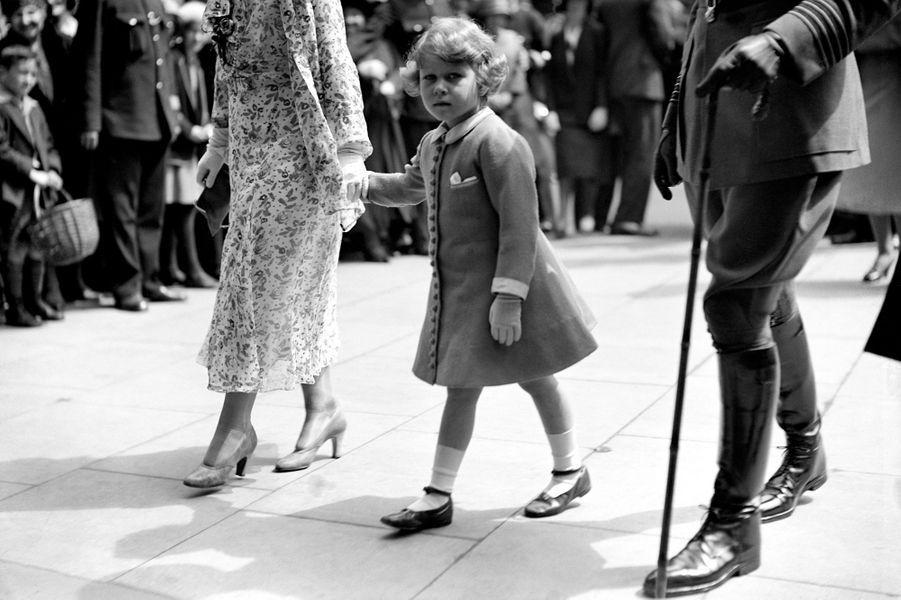 La princesse Elizabeth, le 5 juin 1931