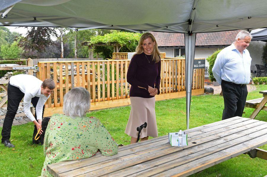 La comtesse Sophie de Wessex à Windlesham, le 8 juillet 2020