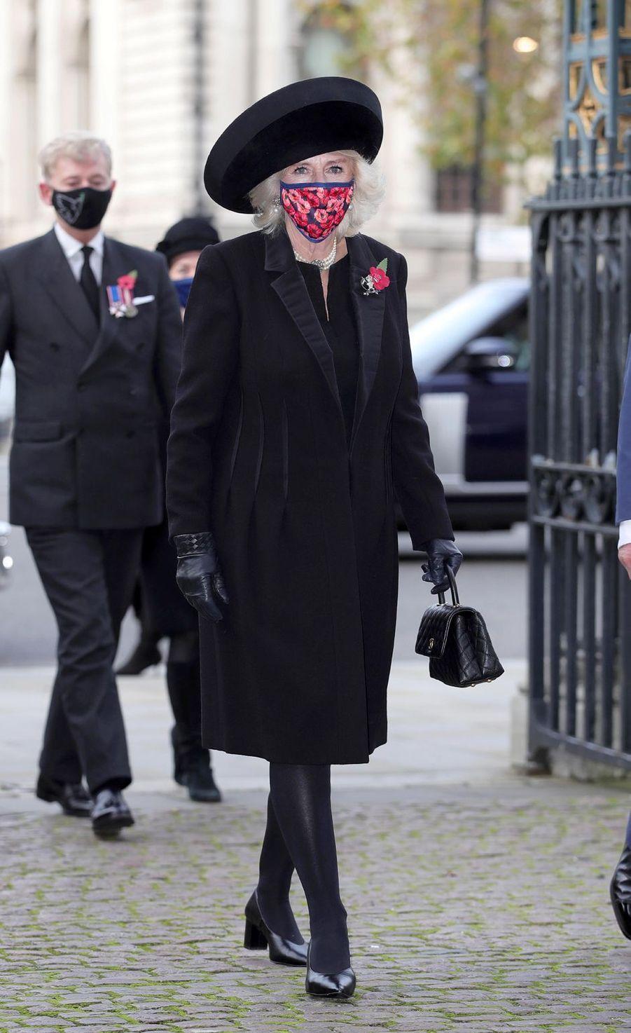 La duchesse de Cornouailles Camilla à Londres, le 11 novembre 2020