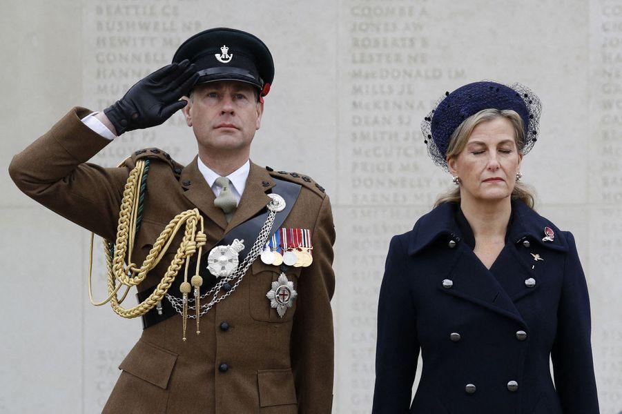 Le comte et la comtesse de Wessex à Alrewas, le 11 novembre 2020