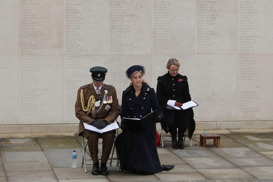 La comtesse Sophie de Wessex et le prince Edward à Alrewas, le 11 novembre 2020