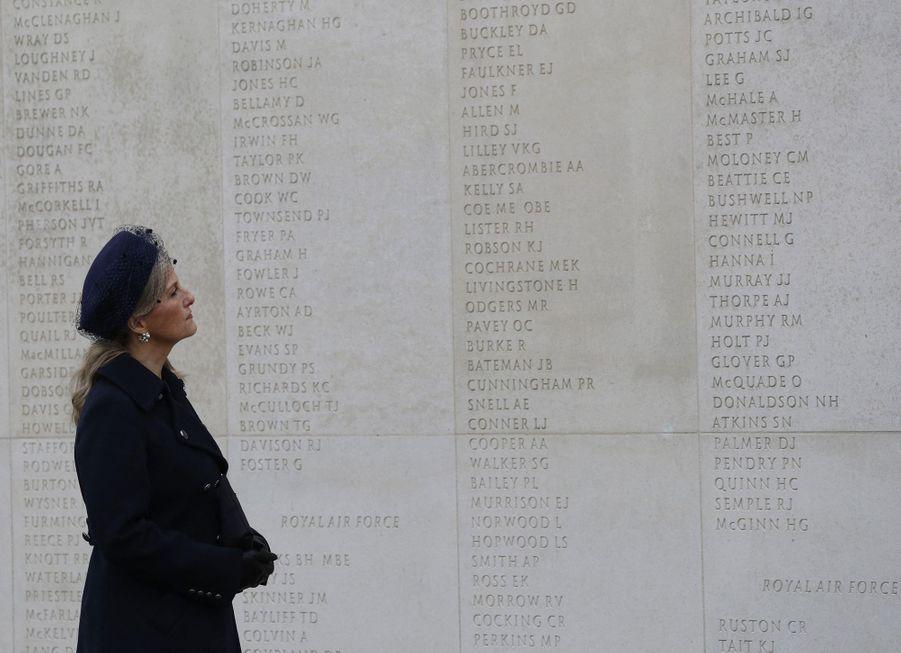 La comtesse Sophie de Wessex à Alrewas, le 11 novembre 2020