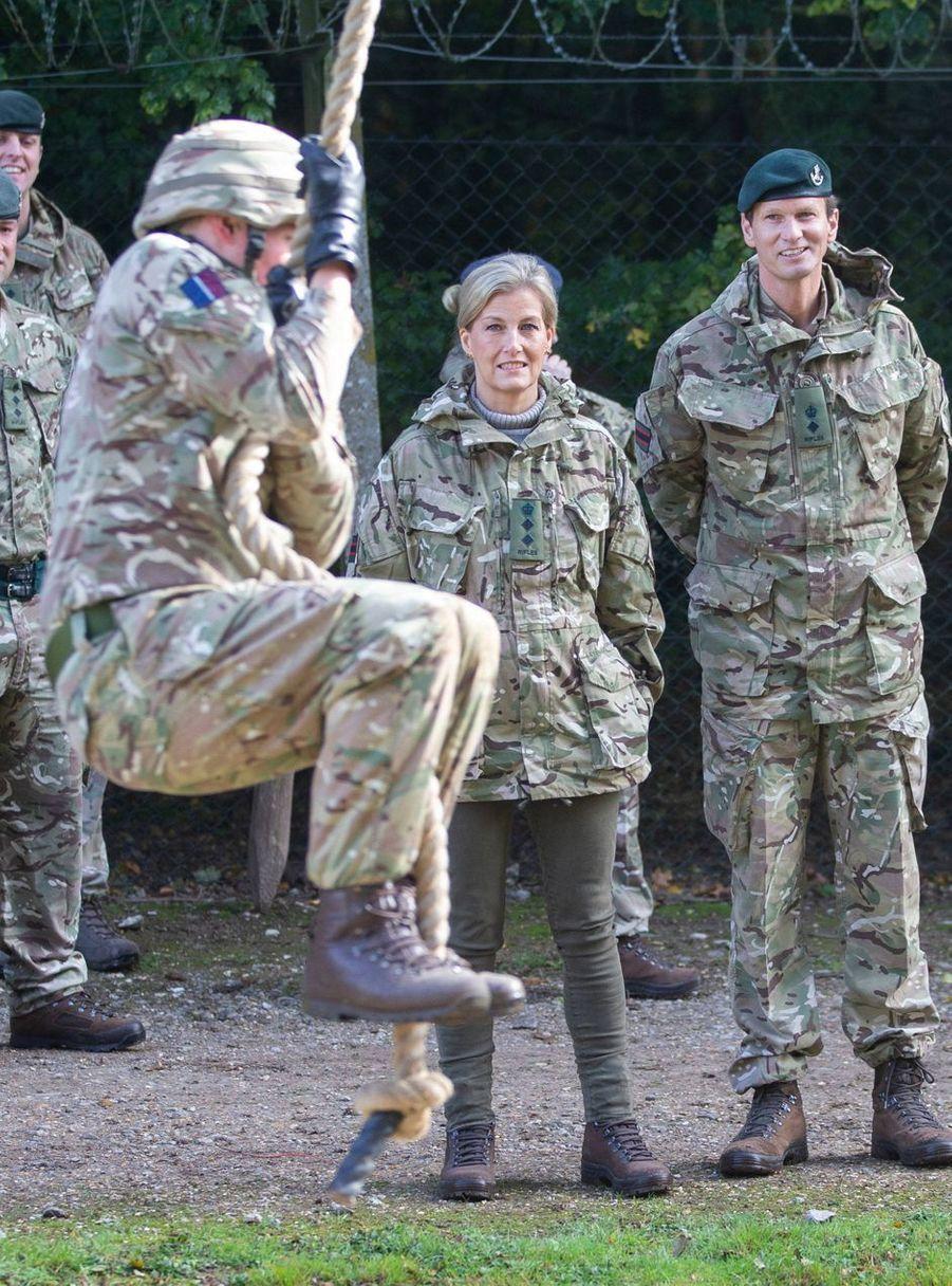 La comtesse Sophie de Wessex, le 22 octobre 2019 à Winchester