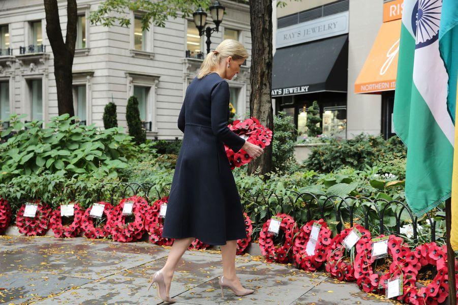 La comtesse Sophie de Wessex à New York, le 11 novembre 2015