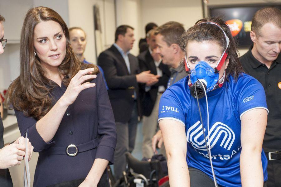 Kate enceinte et en forme olympique