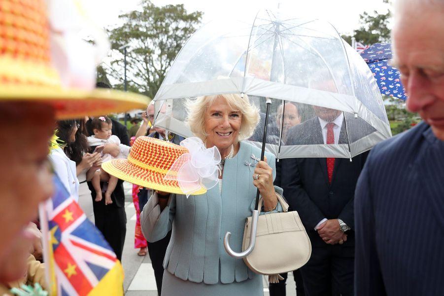 Camilla Parker-Bowles, la duchesse de Cornouailles, en Nouvelle-Zélande le 18 novembre 2019
