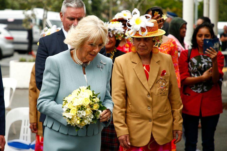 La duchesse de Cornouailles Camilla en Nouvelle-Zélande, le 18 novembre 2019