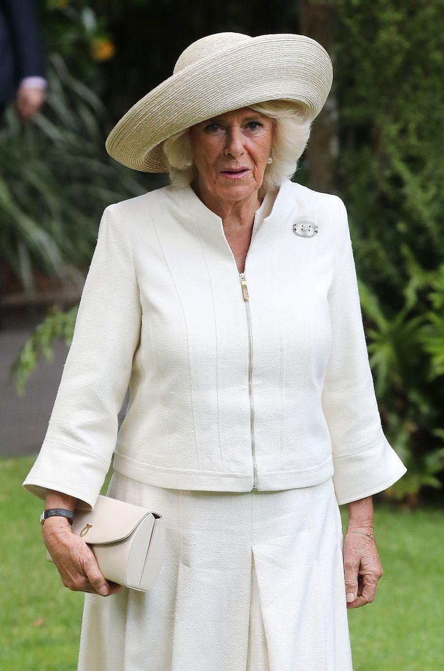 La duchesse de Cornouailles Camilla en Nouvelle-Zélande, le 19 novembre 2019