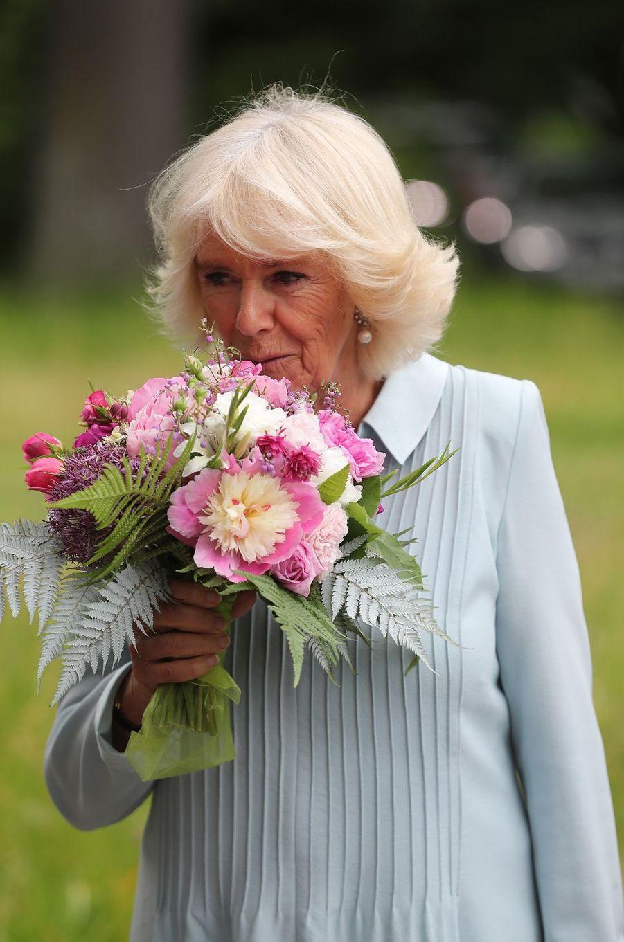 La duchesse de Cornouailles Camilla en Nouvelle-Zélande, le 23 novembre 2019